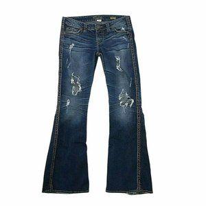 """Silver Jeans Women Frances 22"""" Sz 29 X 33 In 13-12"""